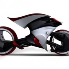 Tesla E-Max Motorbike