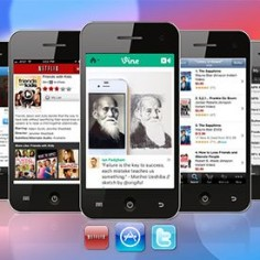 The 100 Best iPhone Apps (update) - as of Sept 2013 - There's a table of contents that break down the slideshow into categories for easier viewing
