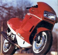The 1989 Ducati 906 Paso has, at its heart, a liquid-cooled, four-stroke, 904cc, 90-degree V-Twin desmodromic powerhouse that was