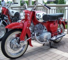 The 305-cc OHC 4-stroke Benley was produced from 1961 until 1967.