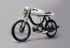The Automator Puch Magnum ~ Return of the Cafe Racers