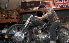 The Black Falcon by Falcon Motorcycles - Pics and Video