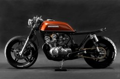 """The Brushed"" 1981 Honda CB750 cafe racer - Steel Bent Customs"