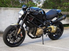 The Bullitt - Custom 2009 Ducati Monster 1100S.