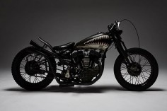 The cult Japanese motorcycle builder HWZNBROSS turns out stunning V-twin customs.
