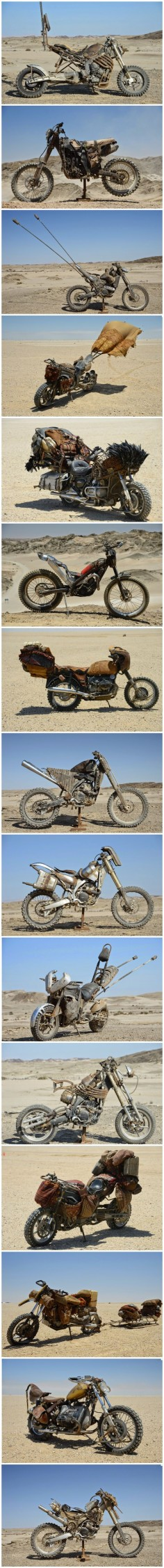 The custom motorcycles of Mad Max: Fury Road - Imgur