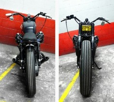 The Devil Made Me Build It: Moto Guzzi 1000SP by Blitz Motorcycles