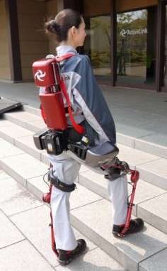 The Exoskeletons Are Coming | Some workers could soon strap on a power-assist suit before maneuvering heavy objects.