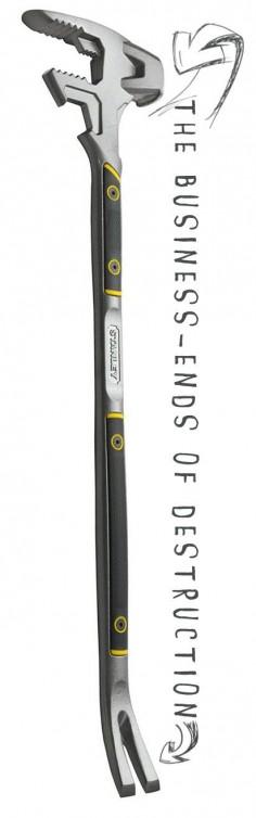 The FatMax Xtreme 55-120 FuBar III Zombie Tool of DOOM!