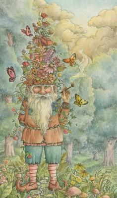 The gnomes garden.