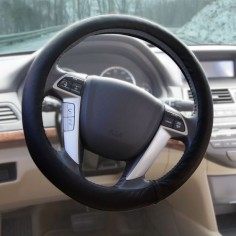 The Heated Steering Wheel Cover - Hammacher Schlemmer