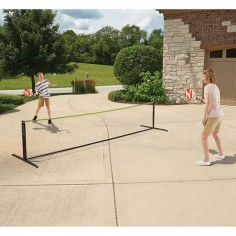 The Instant Pickleball Court Set - Hammacher Schlemmer