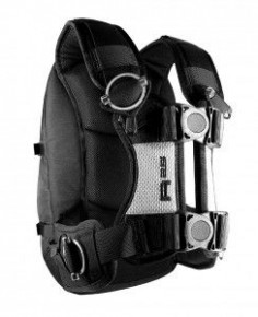 The Kriega R25 motorcycle rucksack. If you read British motorcycle magazines, you've probably seen this pack on the backs of many Moto-journalists. No loose straps thanks to adjusters sourced from parachute packs, the weight is transferred of your shoulders and to your hips. It's bombproof, which is why it has a 10 year warranty!