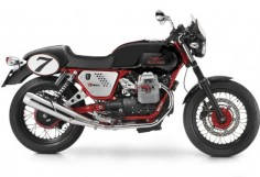 The Moto Guzzi V7 Racer is, in some respects, a testament to Moto Guzzi's history. It's based on the Moto Guzzi V7 Sport from the 1970's although