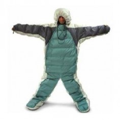 The Selk'Bag, A Wearable Sleeping Bag. Next winter power outage.