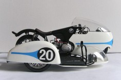 The sidecar as art: Max Deubel's BMW Rennsport racer.