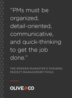 The Strategic Marketer's Toolbox: Project Management Tools  #MarketingResources #ProjectManagement #MarketingTools