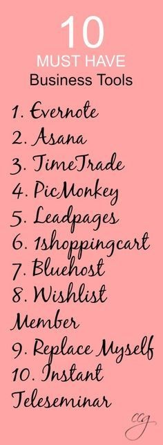 The Top Ten Online Tools I Can't Live Without That Make My Blog, Life and Business Run Smoothly   Classy Career Girl