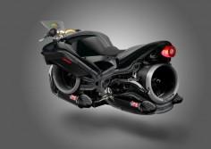 The Triumph Hover-Bike Concept Bike