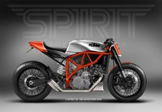 The UK custom workshop Spirit of the Seventies has designs on the KTM LC8. Do you think they should build it?
