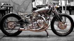 """the vincent black"" falcon motorcycles 