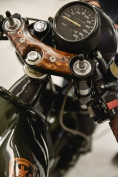 The Wheel To Build by The Real Intellectuals and CaferacerCult #motorcycleculture #culturamotera |
