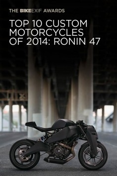 The winners of the 2014 Bike EXIF Awards have just been revealed. This is the Ronin 47, a Buell-powered limited-production machine costing $38,000. Read all about it (and see the other 9 winning bikes) at