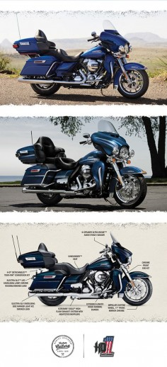 There are absolutely no limits to how far you can go or how good it's all going to feel.   2016 Harley-Davidson Ultra Classic