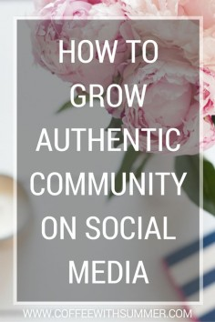 These 9 tips are sure to help you grow an authentic community on social media! Check them out!