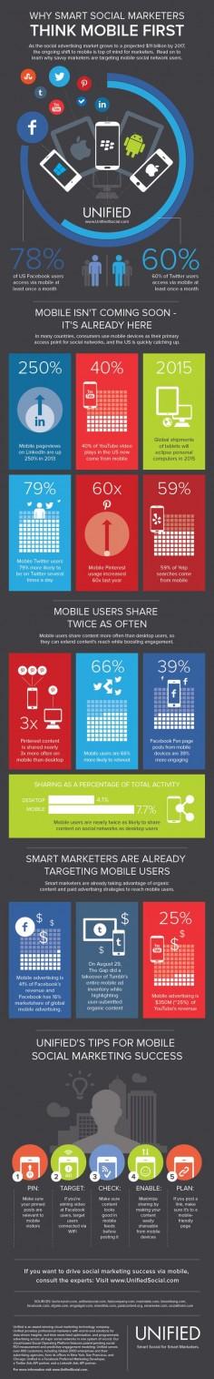 Think mobile first – Soziale Netzwerke und ihre Mobile-Nutzung