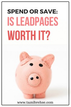 Thinking of using Leadpages for your website, blog or small business? I'll spill whether the subscription is worth it!