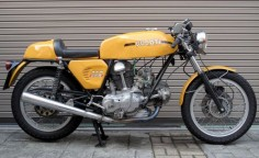 This 1974 Ducati 750 Sport offers the best of both worlds in that it was fitted with