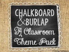 This 240 page {EDITABLE} packet is full of chalkboard and burlap themed resources to help you turn blank walls into the cutest room on campus!Included in this  PowerPoint Resources (16 pages):*Welcome Personalized Door Sign*Small Round Labels *Medium Round Labels *Large Round Labels *Large Desk Nameplates (2 designs)*Small Cubby Nameplates *Small Square Labels *Large Rectangle Labels *Personalized Student Binder Cover & SpinesPrint-n-go PDF Resources (224 pages):*Testing