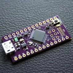 This 32-bit board crams the functionality of an Arduino Zero into a smaller package. #Atmel #Neutrino #Makers #Arduino #Kickstarter