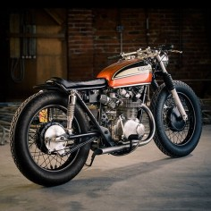 This custom Honda CB450 is one of the stars of the famous Bike EXIF motorcycle wall calendar. Get your 2013 copy from
