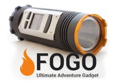 This gadget is super cool! Flashlight, walkie talkie, GPS, charger, and bluetooth all in one!