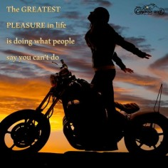 This is for all the women who've been told they couldn't handle a motorcycle, but took it upon themselves to learn anyway. I ♥ U! xo. ~ Ride Free ~ Ride Beautiful ~ Ride Empowered ~