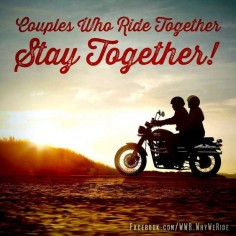 ♥ this!! Love being in the back if his bike and holding him right with nothing but the road and the wind. So freeing!!