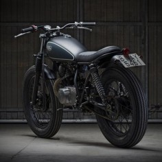 This sweet little Yamaha SR125 is the 56th build from custom motorcycle workshop Cafe Racer Dreams.