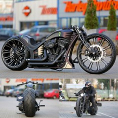 Thunderbike Production-R  - custom motorcycle with Harley-Davidson Screamin Eagle engine