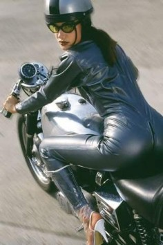 Too much. Cafe Racer Girl