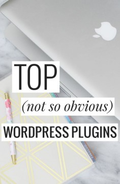 Top (not so obvious) WordPress Plugins - great list!