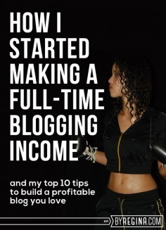 Top tips to build a blog that makes money + grows your brand