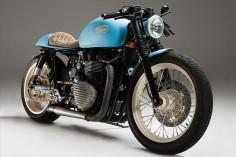 "Triumph Bonneville Cafe Racer ""Moose"" by Mean Machines #motorcycles #caferacer #motos  "