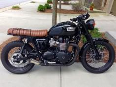 Triumph Brat Style #motorcycles #bratstyle #motos |