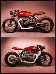 Triumph café racer | Bobber Inspiration - Bobbers and Custom Motorcycles | theroadyeah August 2014
