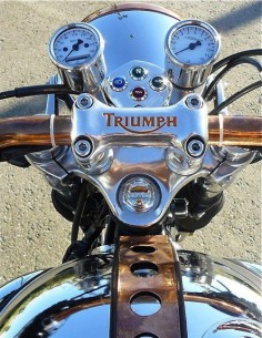 Triumph Motorcycle.