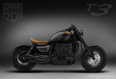 Triumph R3 Dark Is the Evilest Rocket 3 - ThrottleQuest