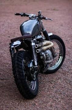 Triumph Scrambler #motorcycles #scrambler #motos |