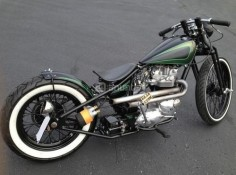 Triumph TR6 bobber | Bobber Inspiration | Bobbers & Custom Motorcycles